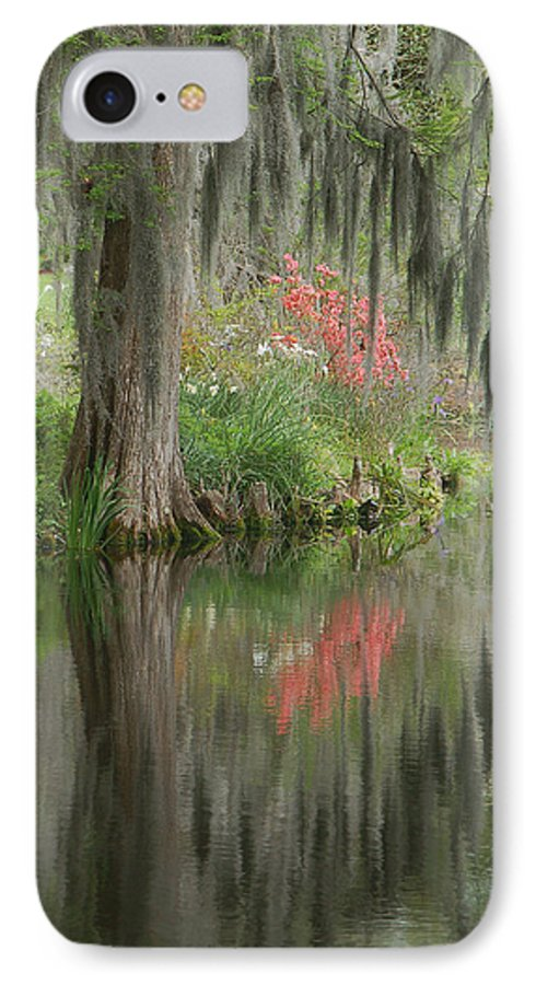 Lowcountry IPhone 7 Case featuring the photograph Lowcountry Series I by Suzanne Gaff