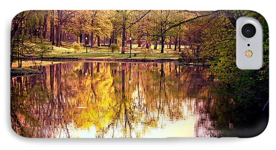 Memorial IPhone 7 Case featuring the photograph Memorial Park - Henry County by Mark Orr