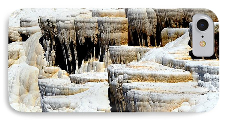 Pamukkale IPhone 7 Case featuring the photograph Pamukkale Terraces by Apurva Madia