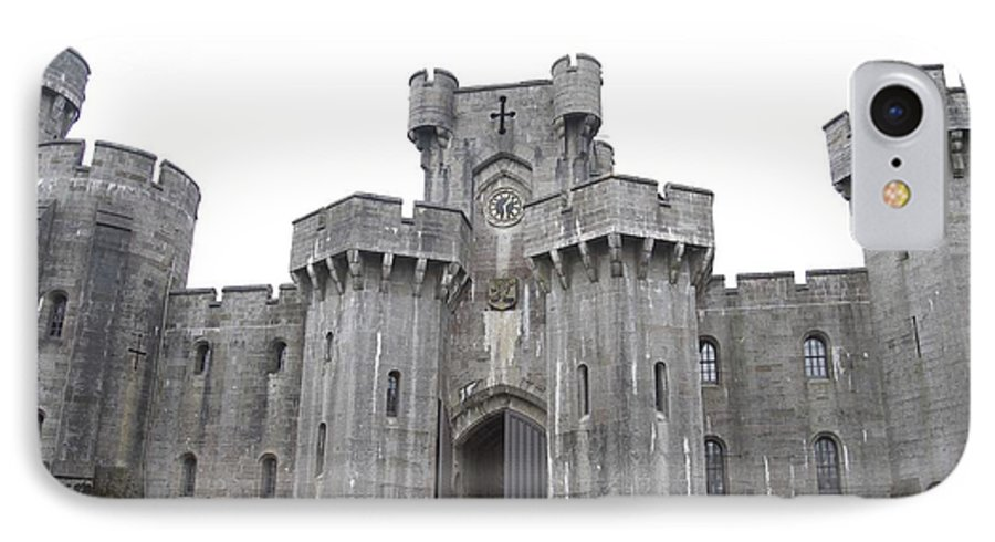 Castles IPhone 7 Case featuring the photograph Penrhyn Castle 3 by Christopher Rowlands