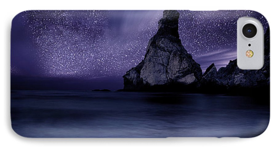 Night IPhone 7 Case featuring the photograph Prelude To Divinity by Jorge Maia