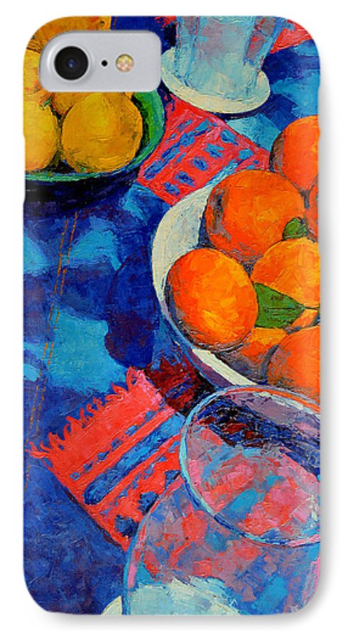 Still Life IPhone 7 Case featuring the painting Still Life 2 by Iliyan Bozhanov