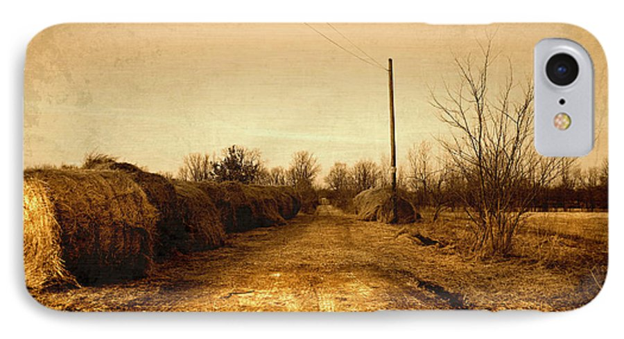 Road IPhone 7 Case featuring the photograph Strawmill Road by Mark Orr