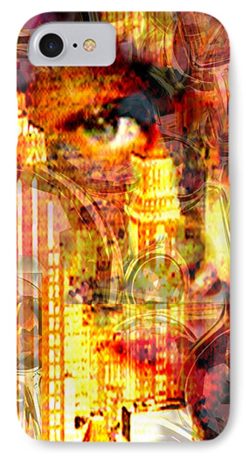 Big City IPhone 7 Case featuring the photograph Streetwalker by Seth Weaver