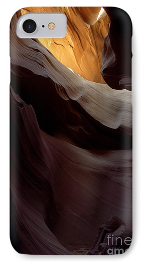 Slot Canyons IPhone 7 Case featuring the photograph Swopes by Kathy McClure