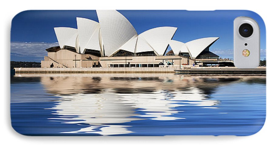 Sydney Opera House IPhone 7 Case featuring the photograph Sydney Icon by Avalon Fine Art Photography