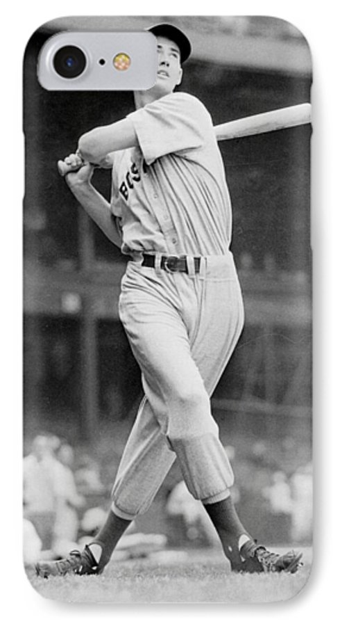 Ted Williams Swing Iphone 7 Case