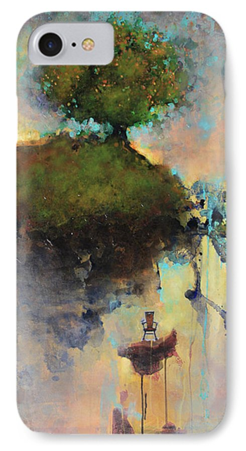 Joshua Smith IPhone 7 Case featuring the painting The Hiding Place by Joshua Smith