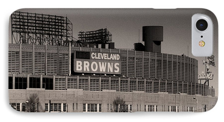 Cleveland IPhone 7 Case featuring the photograph The Hometeams by Kenneth Krolikowski