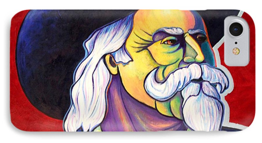Western Hero IPhone 7 Case featuring the painting The Plainsmen - Buffalo Bill Cody by Joe Triano