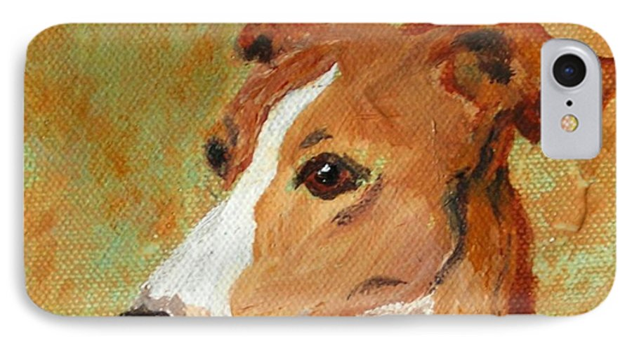 Acrylic IPhone 7 Case featuring the painting Treasured Moments by Cori Solomon
