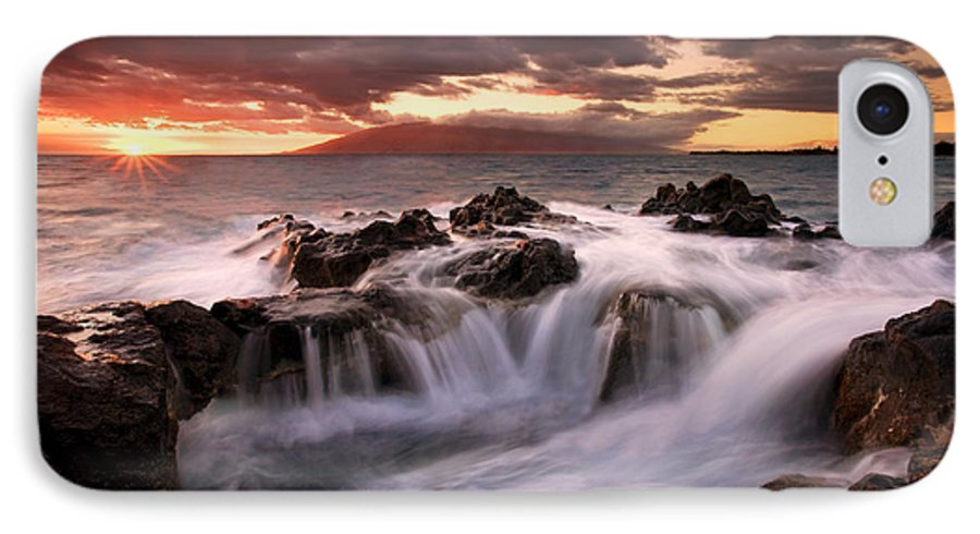 Hawaii IPhone 7 Case featuring the photograph Tropical Cauldron by Mike Dawson