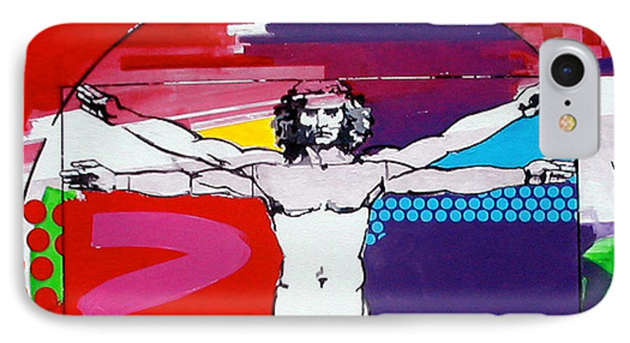 Classic IPhone 7 Case featuring the painting Vetruvian by Jean Pierre Rousselet