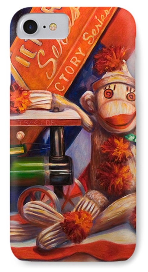 4th Of July IPhone 7 Case featuring the painting Victory by Shannon Grissom