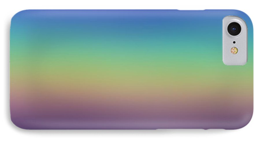 Evening.colors.silince.rest.sky.sea.clean Sky.violet.blue.yellow.rose.darkness. IPhone 7 Case featuring the digital art Evening by Dr Loifer Vladimir