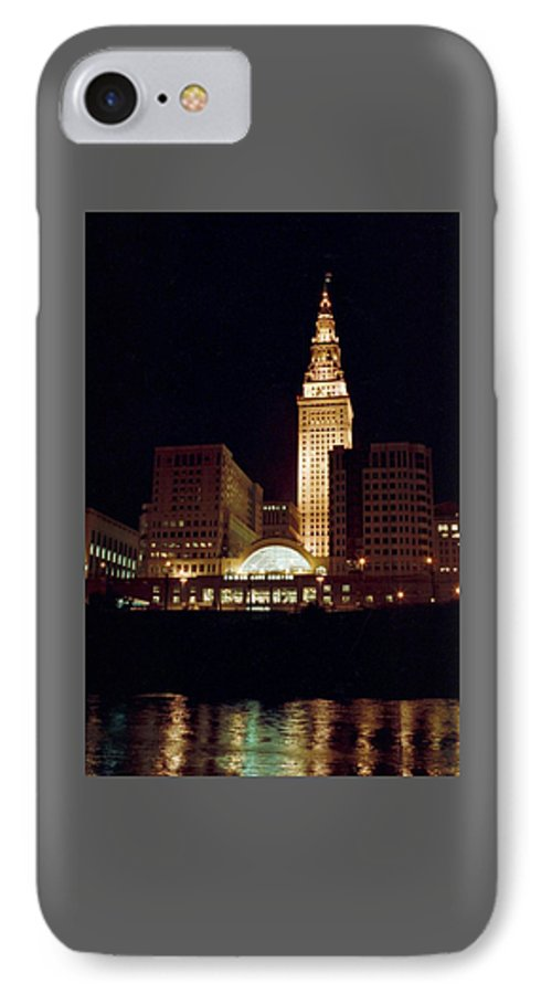 Cleveland IPhone 7 Case featuring the photograph 070506-73 by Mike Davis