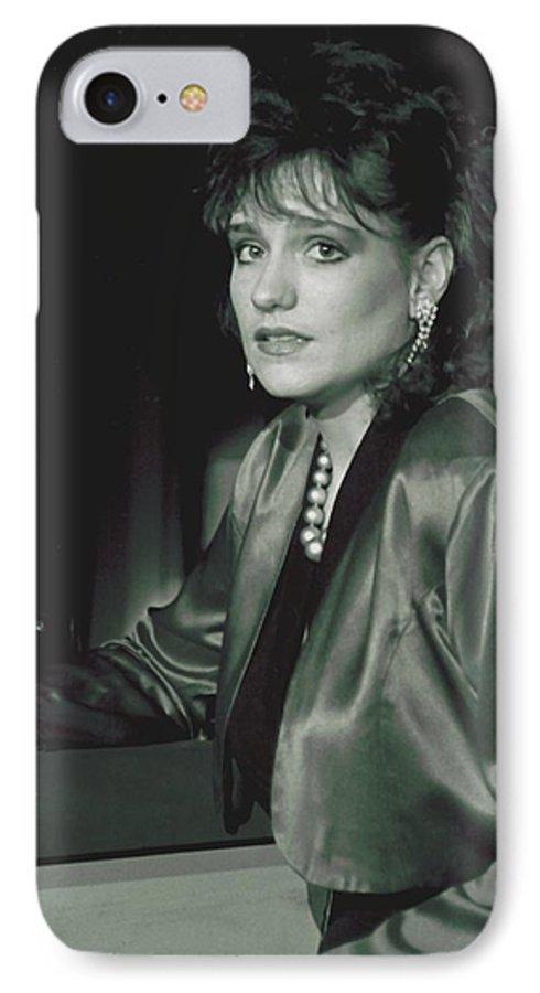 Portrait IPhone 7 Case featuring the photograph 092508-3  Cheri by Mike Davis