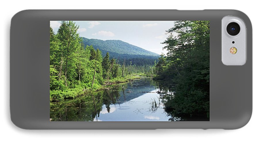Mountain IPhone 7 Case featuring the photograph 070506-84 by Mike Davis