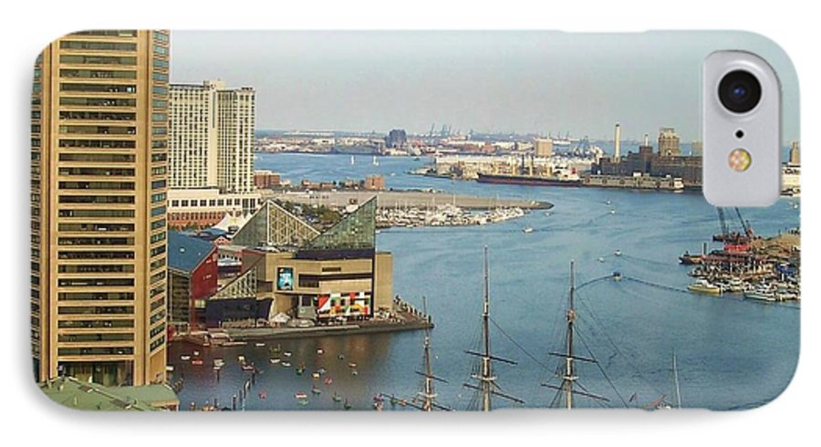 Baltimore IPhone 7 Case featuring the photograph Baltimore by Debbi Granruth