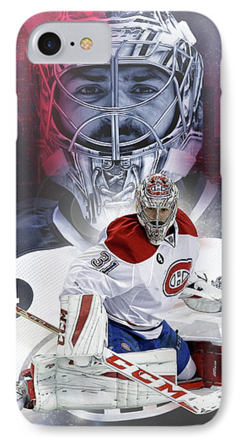 Carey Price Montreal Canadiens Canadiens Hockey Nhl Habs Carey Price Paintings Montreal Canadiens Paintings Goalie Paintings Hockey Paintings Carey Price Canvas Prints Montreal Canadiens Canvas Prints Goalie Canvas Prints Hockey Canvas Prints Ice Canvas Prints Montreal Canadiens Framed Prints Goalie Framed Prints Hockey Framed Prints Ice Framed Prints IPhone 7 Case featuring the digital art Carey Price by Nicholas Legault