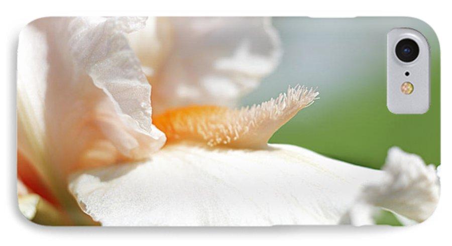 Genus Iris IPhone 7 Case featuring the photograph Iris Flowers by Tony Cordoza