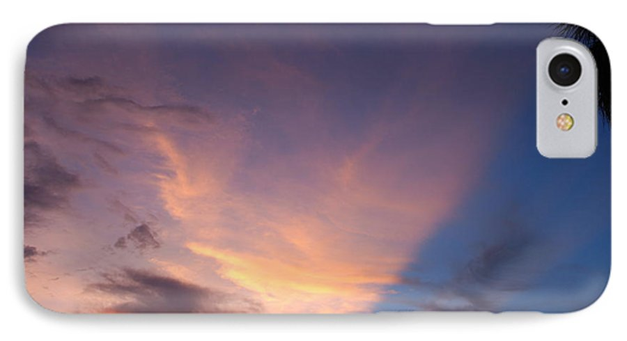Sunset IPhone 7 Case featuring the photograph Sunset At Pine Tree by Rob Hans