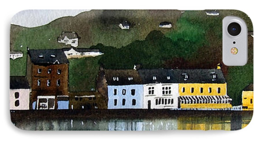 Landscape IPhone 7 Case featuring the painting Tarbert by Paul Dene Marlor