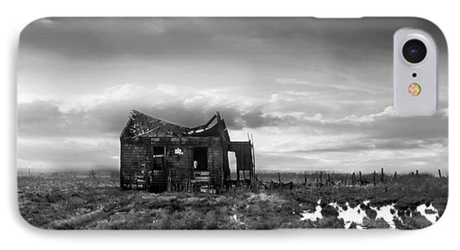Architecture IPhone 7 Case featuring the photograph The Shack by Dana DiPasquale
