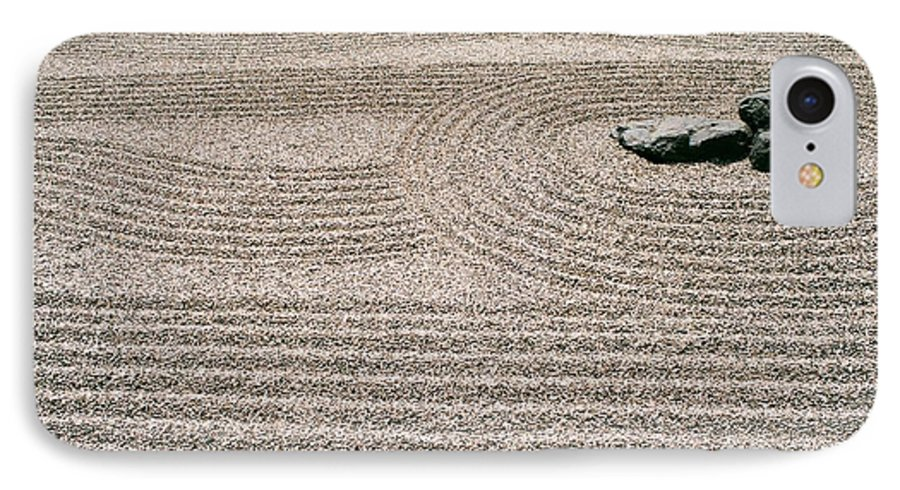 Zen IPhone 7 Case featuring the photograph Zen Garden by Dean Triolo