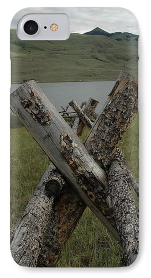 Landscape IPhone 7 Case featuring the photograph Untitled by Kathy Schumann