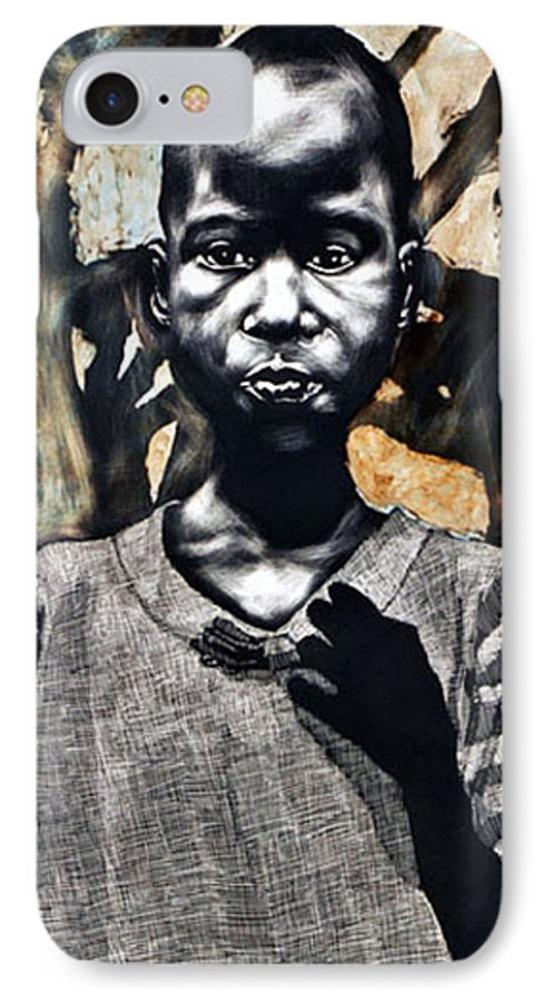 IPhone 7 Case featuring the mixed media 1962 by Chester Elmore