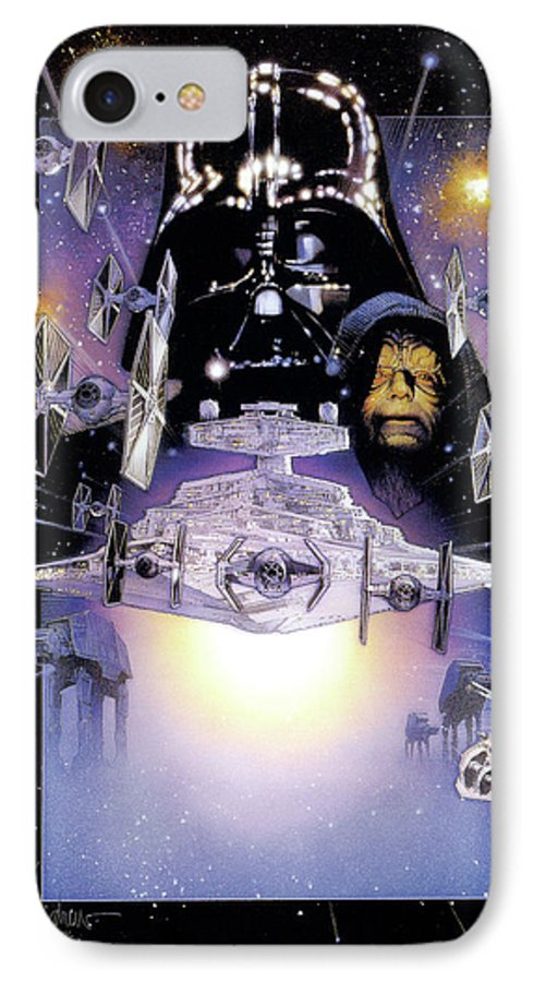 Star Wars Episode V The Empire Strikes Back 1980 Iphone 7 Case For Sale By Geek N Rock