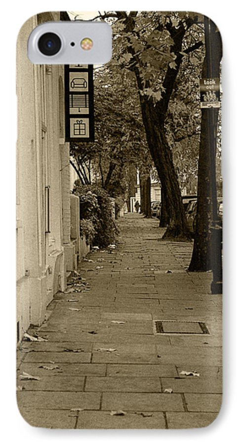 London IPhone 7 Case featuring the photograph A London Street I by Ayesha Lakes