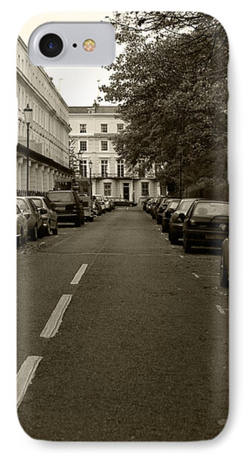 Travel IPhone 7 Case featuring the photograph A London Street II by Ayesha Lakes