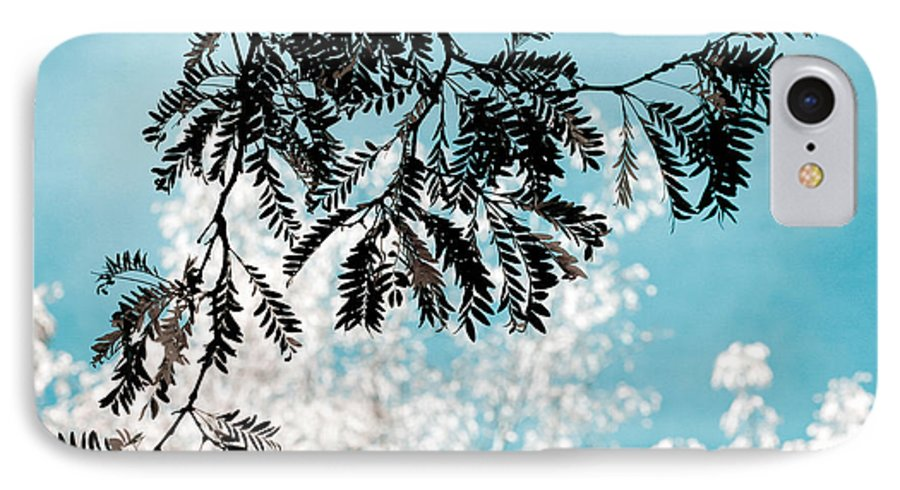 Tree IPhone 7 Case featuring the photograph Abstract Locust by Marilyn Hunt