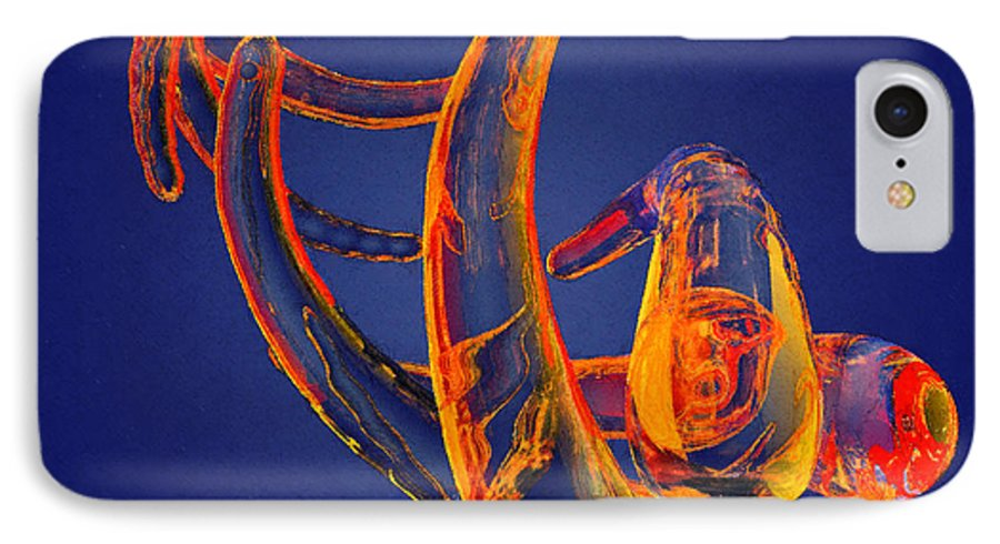 Abstract IPhone 7 Case featuring the photograph Abstract Number 13 by Peter J Sucy
