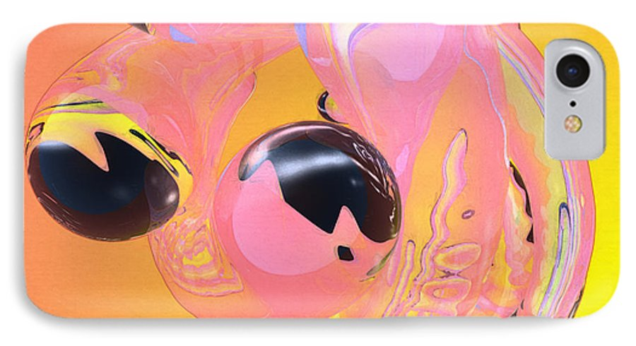 Abstract IPhone 7 Case featuring the photograph Abstract Number 5 by Peter J Sucy