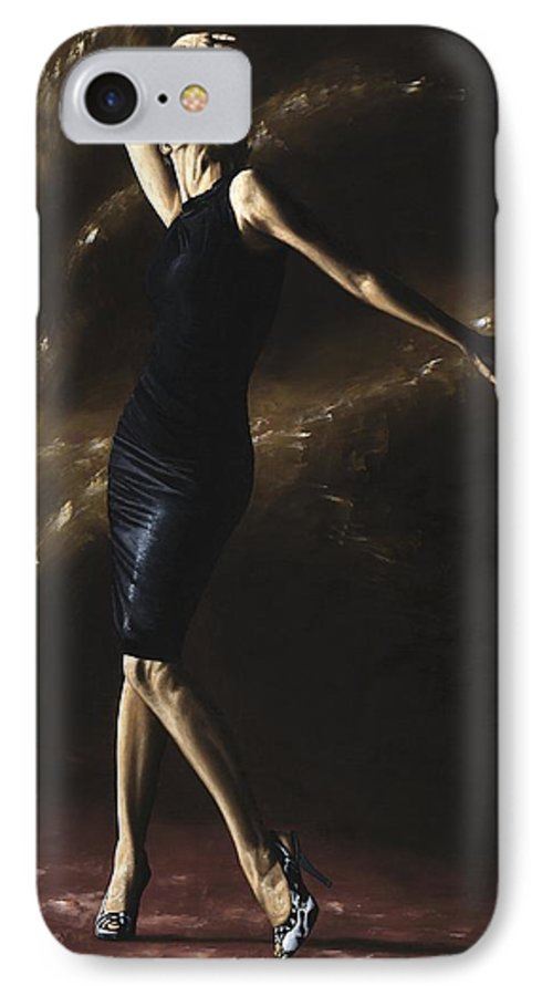 Dance IPhone 7 Case featuring the painting After The Dance by Richard Young