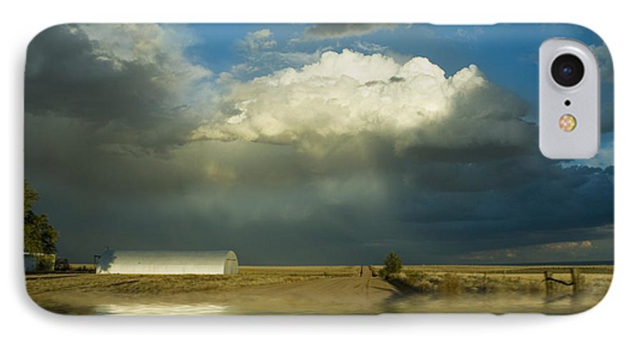 Storm IPhone 7 Case featuring the photograph After The Storm by Jerry McElroy