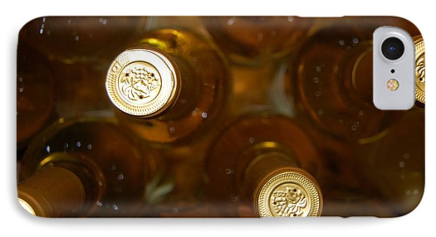Wine IPhone 7 Case featuring the photograph Aged Well by Debbi Granruth