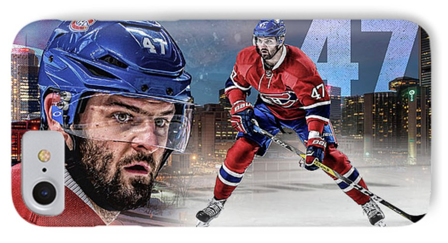 Montreal IPhone 7 Case featuring the digital art Alexander Radulov Artwork by Nicholas Legault
