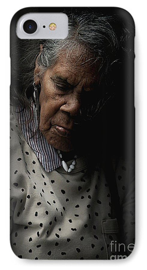 Portrait IPhone 7 Case featuring the photograph Alice by Sheila Smart Fine Art Photography