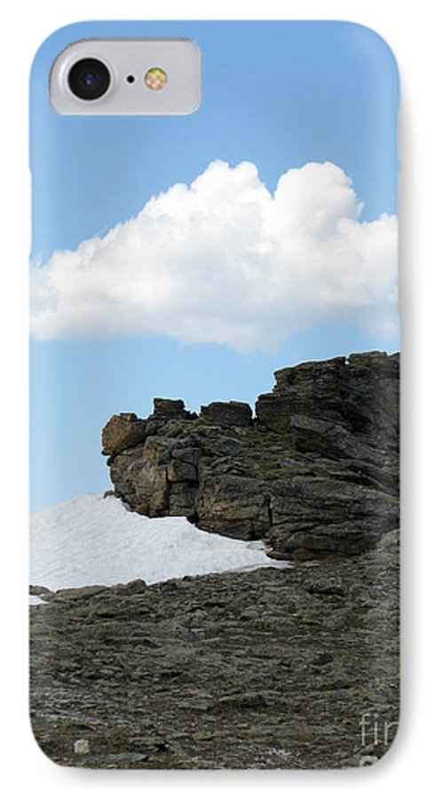 Rocky Mountains IPhone 7 Case featuring the photograph Alpine Tundra - Up In The Clouds by Amanda Barcon