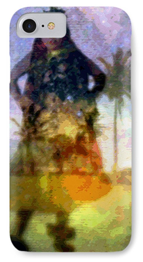 Tropical Interior Design IPhone 7 Case featuring the photograph Aluna Ahiahi Hula by Kenneth Grzesik