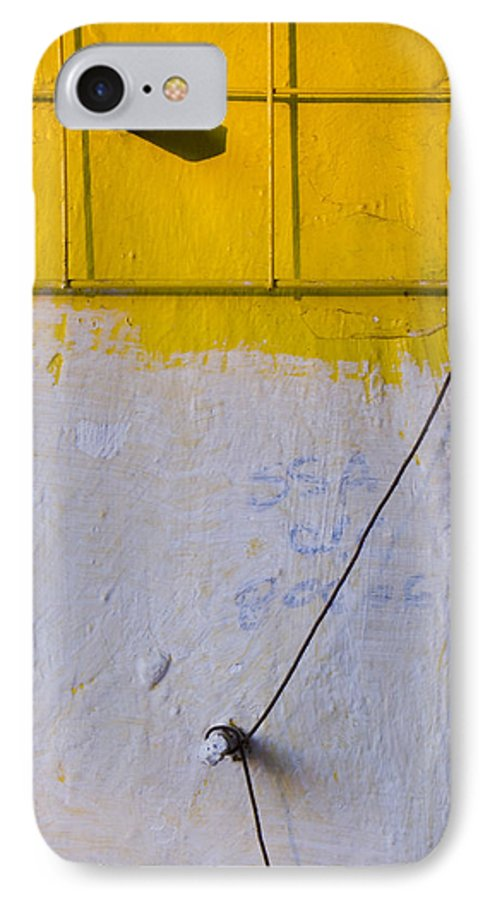 Abstract IPhone 7 Case featuring the photograph Amarillo by Skip Hunt