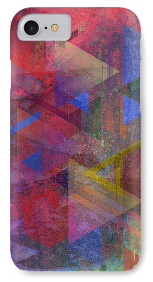 Another Time IPhone 7 Case featuring the digital art Another Time by John Beck
