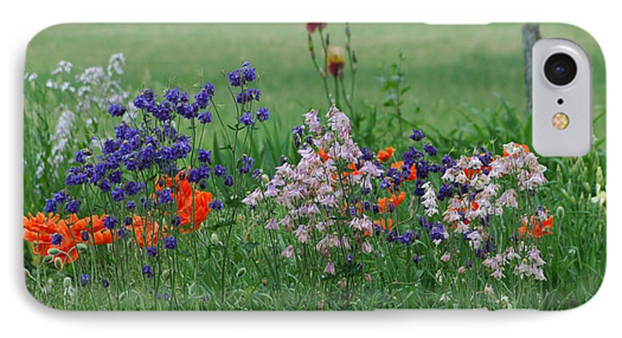 Dew IPhone 7 Case featuring the photograph Tiny Miracles by Linda Murphy