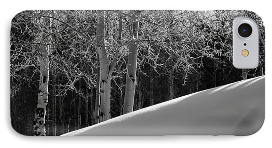 Colorado IPhone 7 Case featuring the photograph Aspencade by Skip Hunt