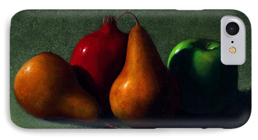 Still Life IPhone 7 Case featuring the painting Autumn Fruit by Frank Wilson