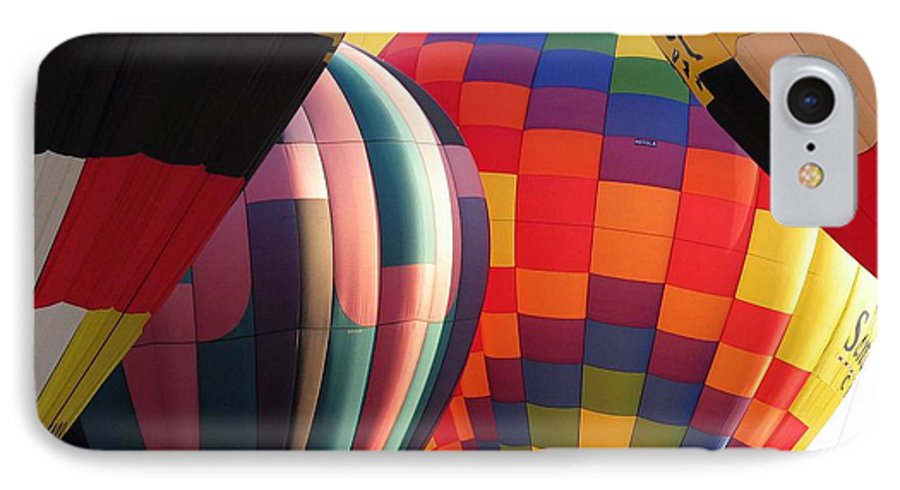 Hot Air Balloons IPhone 7 Case featuring the photograph Balloons by Margaret Fortunato
